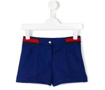contrast stripe shorts
