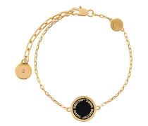 logo disk bracelet