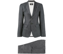 - tapered suit - women - Polyester/Schurwolle - 44