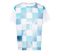 T-Shirt mit geometrischem Print