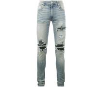 'Bandana' Jeans im Distressed-Look
