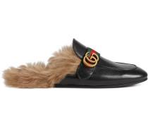 Princetown Slipper aus Leder mit GG
