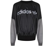 x Human Made Sweatshirt mit Logo-Print