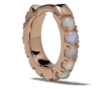 18kt Rotgoldcreole mit Opal