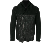 contrast material jacket