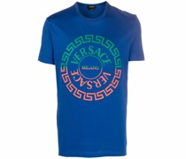 T-Shirt mit Greca-Print