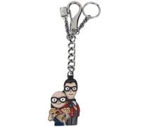 Schlüsselanhänger mit Designer-Motiv