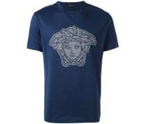 microstudded Medusa Head T-shirt