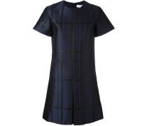Jacquard-Kleid mit kurzen Ärmeln - women