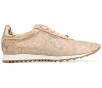 Spitzen-Sneakers mit Schnürung