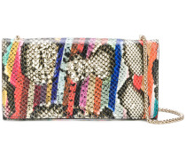 Snake Swirl clutch bag