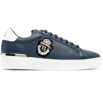 Sneakers mit Wappen-Patch
