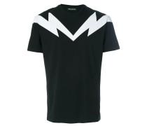 T-Shirt mit Blitz-Motiv