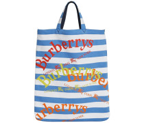 Archive Logo Striped Shopper