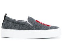 'London' Slip-On-Sneakers