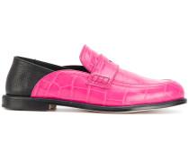 Loafer mit Krokodilleder
