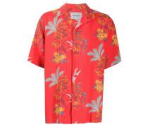 Hawaiihemd mit Blumen-Print
