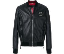 zip detailed bomber jacket