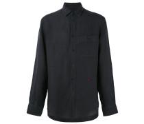 Hemd mit Brusttasche - men - Leinen/Flachs - L