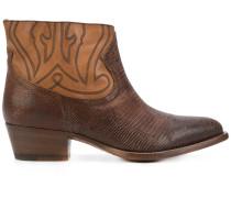 Cowboy-Stiefel mit schmaler Passform