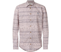 shirt with scribble pattern