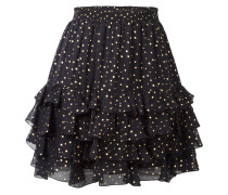 otted print skirt