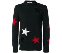 Pullover mit sternförmigen Cut-Outs