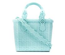 Handtasche mit Blumendetail