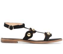 Sandalen mit Nieten