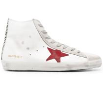 Superstar Sneakers mit Zebra-Print