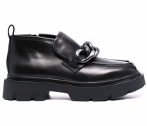 Universe leather loafers