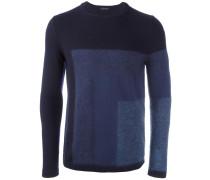 Pullover mit geometrischem Design