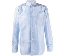 Schmales Hemd mit Streifen
