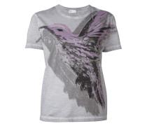 T-Shirt mit Kolibri-Prints - women - Baumwolle