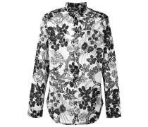 Hemd mit Blumen-Print - men - Baumwolle - 50