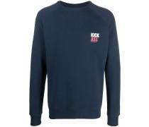 "Sweatshirt mit ""Kick Ass""-Print"