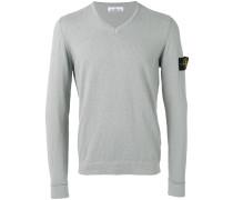 logo patch jumper - men - Baumwolle/Polyamid