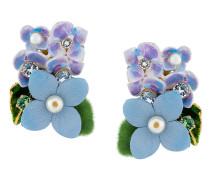 Ohrclips mit Blumen-Motiv