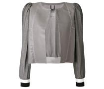 cropped panel jacket