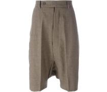 Shorts mit Bügelfalte