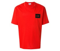 Kastiges T-Shirt mit Logo