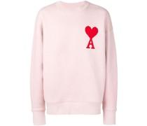 """Sweatshirt mit """" de Coeur""""-Patch"""