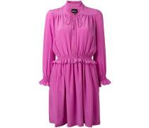 - Seidenkleid mit geraffter Taille - women