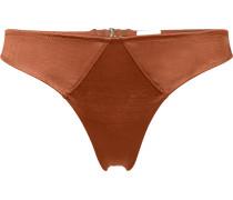 jersey thong - women - Elastan/Acetat - 2