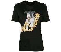 'Audrey' T-Shirt mit Print
