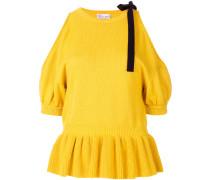 cold shoulder knit top