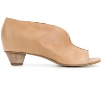 open toe mules