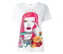 T-Shirt mit Pailletten - women - Baumwolle/PVC