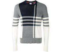 - Pullover mit Karomuster - men - Baumwolle - S