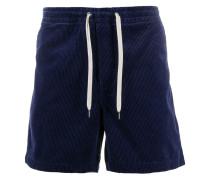 drawstring corduroy shorts